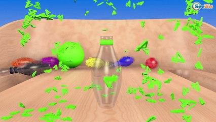 Learn Colors Pacman Lolipop Learn Numbers Gumball Machine Ice Cream Учим Цвета с конфетами и песнями