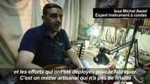 Fabriquer le luth oriental, un art en déclin en Syrie