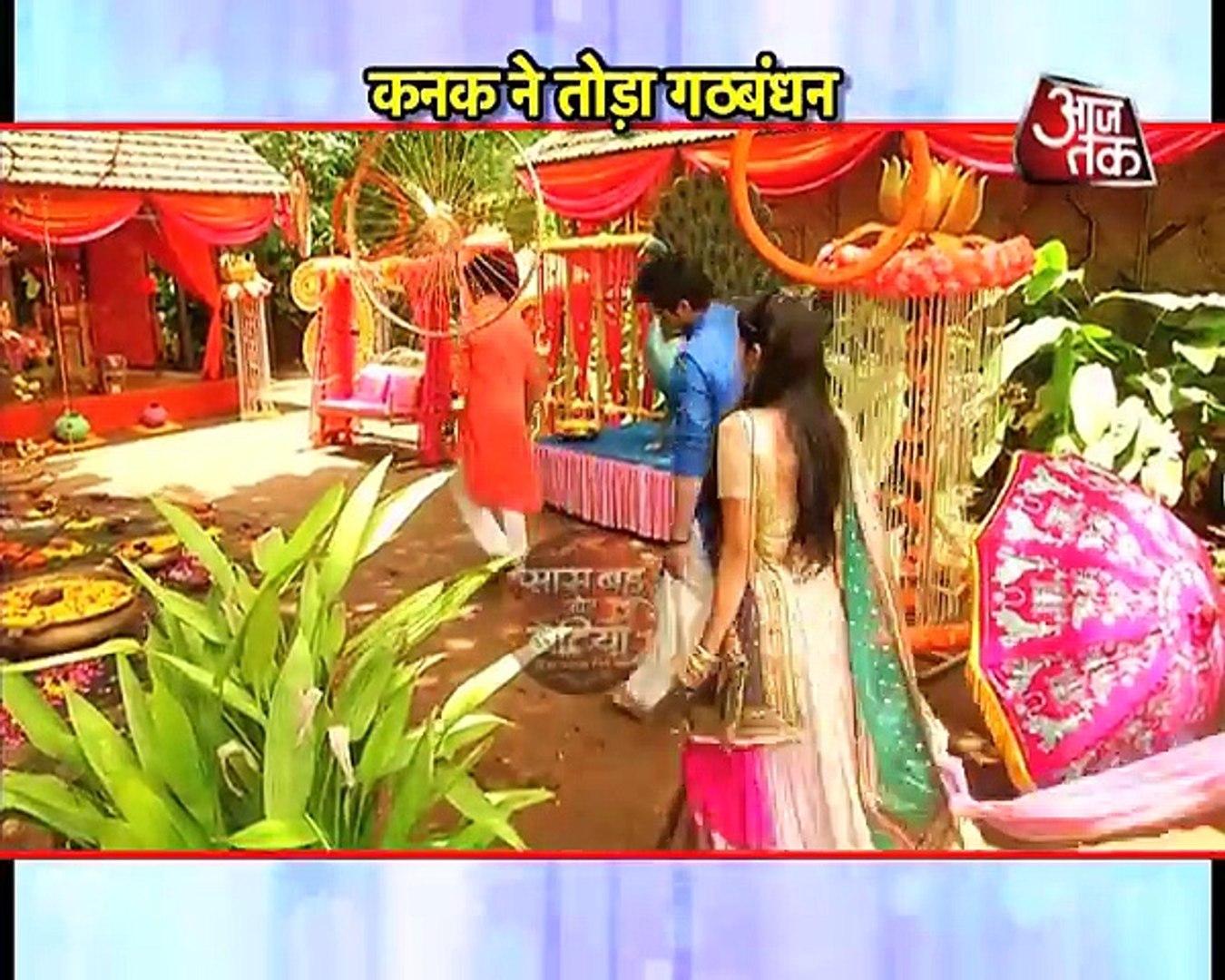 Kanak angry on Umashankar!! Tu Suraj Main Sanjh Piyaji