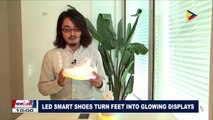GLOBAL NEWS: LED smart shoes turn feet into glowing displays