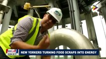 GLOBAL NEWS: New Yorkers turning food scraps into energy