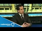 Entrevista con Rodrigo Pacheco de Excélsior televisión / Rodrigo Pacheco/ Excélsior televisión