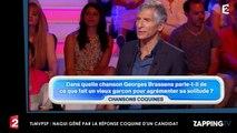 TLMVPSP : Nagui gêné par la réponse très coquine d'un candidat (Vidéo)