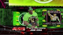 WWE NETWORK SPECIAL! WWEMSG (Predictions) Steel Cage US Title Seth Rollins vs. John Cena WWE2K15