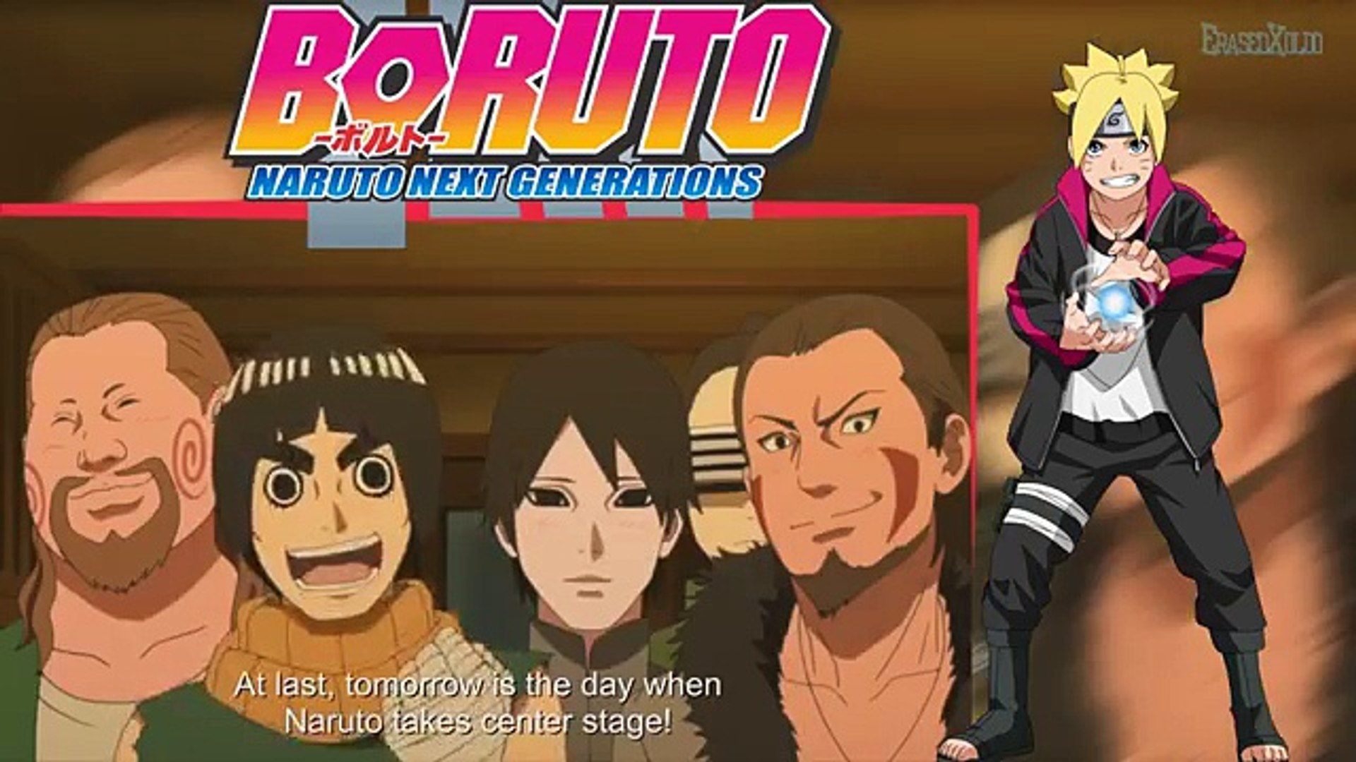 Drunk Naruto came home  Boruto Naruto Next Generations