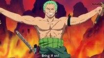 Luffy And Zoro Vs Dragon - One Piece