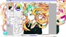 Aqualumina X Gallery Nucleus Recorded Stream : Kaytseki Houseki No Kuni Timelapse