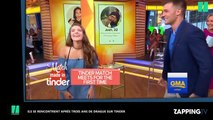 Etats-Unis : Ils ont leur premier rendez-vous après 3 ans de drague sur Tinder et une rencontre à la télé (vidéo)