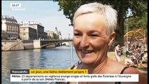 Anne Hidalgo veut que les parisiens puissent se baigner dans la Seine, mais en ont-ils envie ? Regardez