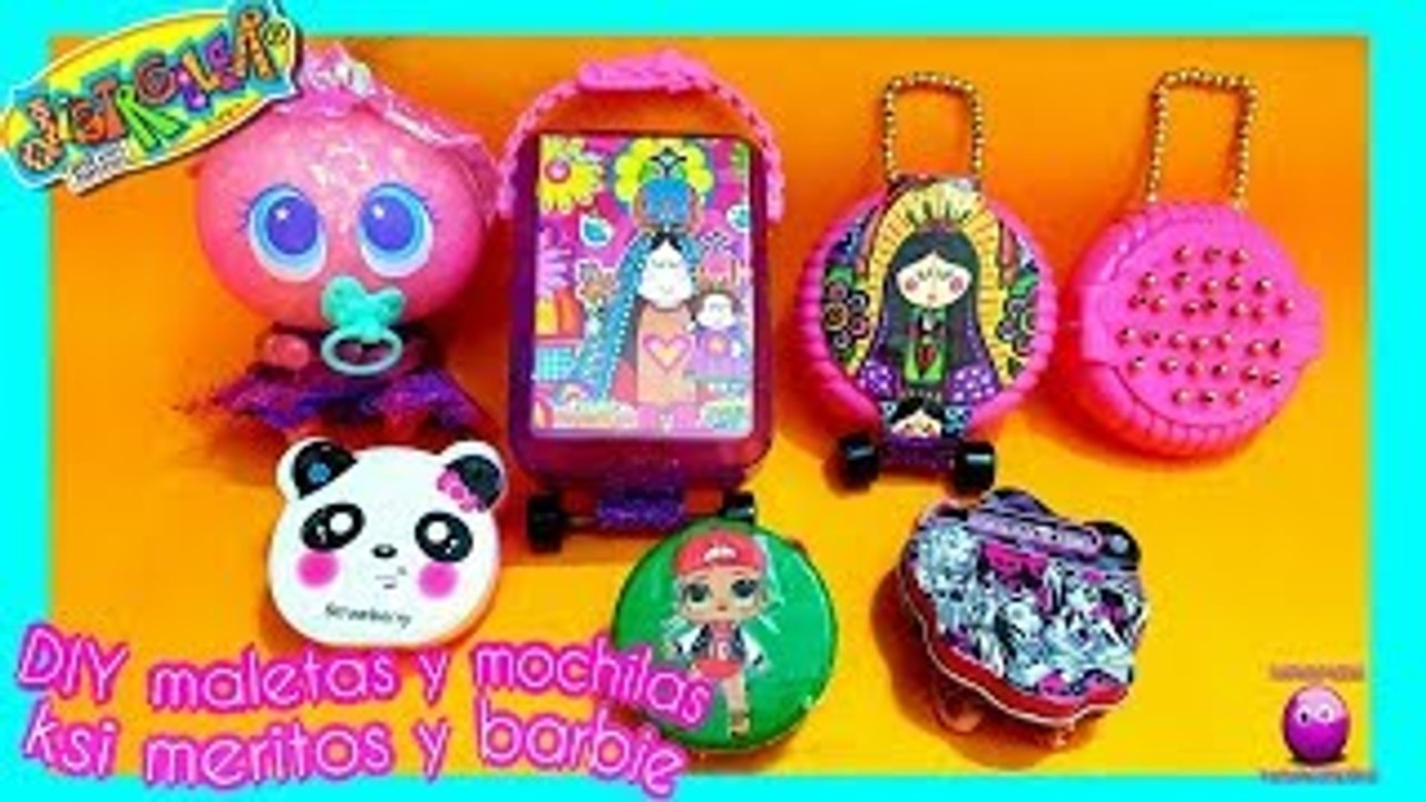 Diy Maletas Y Mochilas Para Ksi Meritos Y Barbie Dailymotion Video