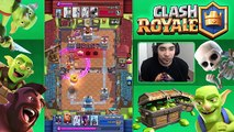 Clash Royale XBOW IS OVERPOWERED ! Defeating higher players in battle Godson Clash Gaming