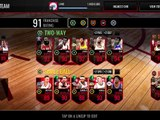 NEW 94 OVERALL TREY BURKE THROWBACK PULL! 20 ELITE THROWBACK PACKS! NBA Live Mobile 16