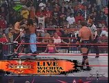 (720pHD): WCW Nitro 08/21/00 Mysterio/Guerrera/Inferno (w/Tygress) vs. Jindrak/OHaire/San