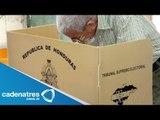 Detalles de las elecciones en Honduras / Últimas noticias tras elecciones en Honduras