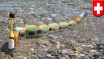 Robot ular air ini berenang menyaring polusi secara otomatis - TomoNews
