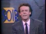 """FR3 - 1er Novembre 1988 - Pubs, bandes annonces, """"Soir 3"""" (Jacques Paugam), météo"""
