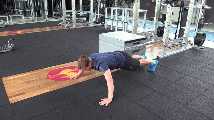 Séance de musculation n°2 (travail sans salle)