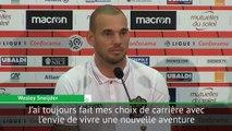 """Nice - Sneijder : """"J'ai encore envie de gagner des titres"""""""