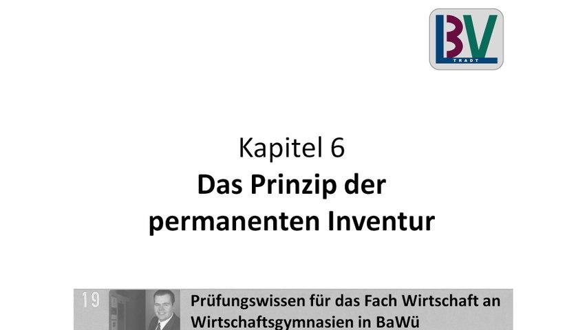 Permanente Inventur [WG K06 T18]