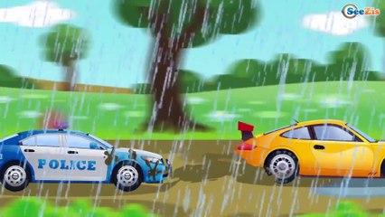 Mini héroes - ¡COCHES DE Policía! - Dibujos animados de coches - Series para niños en español