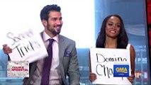 Bachelorette Rachel Lindsay and fiance Bryan Abasolo Interview