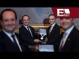 Francois Hollande recibe las llaves de la Ciudad de México  / Andrea Newman