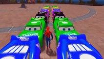 Et des voitures enfants les couleurs monstre garderie rimes chansons homme araignée camions avec disney aiguille pixar