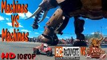 Eléphant Nantes VS Rc Scale Crawlers : Machines VS Machines