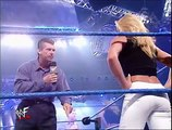 Trish Stratus Saved by The Rock from Vince Mcmahon classic WWF/WWE