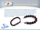 Customized semi-precious stone jewelry online at affordable rates