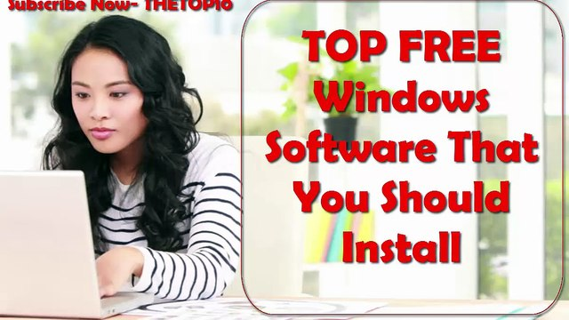 TOP FREE windows software that you must install