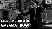 Mere Mehboob Qayamat Hogi | Mr. X In Bombay Video Songs | Kishore Kumar Hit Songs | Anand Bakshi