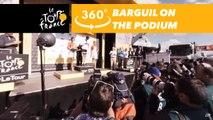 Warren Barguil's podium at the Col d'Izoard - 360° - Tour de France 2017