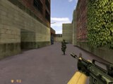Counter-Strike v1.6 gameplay with Hard bots - Train - Counter-Terrorist (Old - 2014)