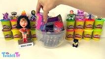 Wonder Woman Sürpriz Yumurta Oyun Hamuru Play Doh - Barbie Cicibiciler Emojiler