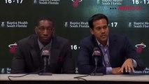 Bam Adebayo Full Introductory Press Conference Miami Heat   2017 NBA Draft