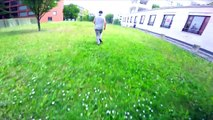 PARKOUR & FREERUNNING POV CHASE MICHI LEBER VS URBAN AMADEI BERLIN | GoPro HERO4