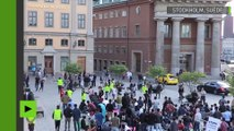 Suède : trois blessés dans une attaque des extrémistes contre une manifestation de réfugiés afghans
