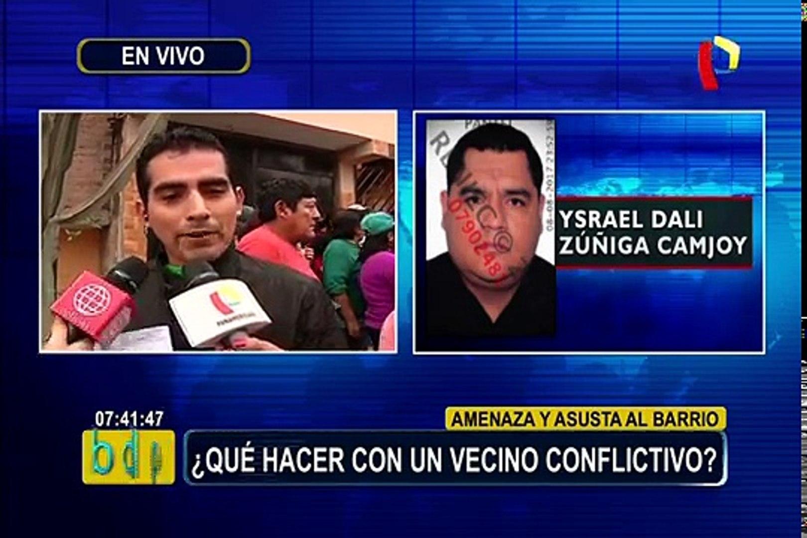 Villa El Salvador Vecino Conflictivo Apuñala A Perro Delante De Niños