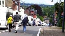 Fosses-la-Ville: une quarantaine de caravanes de gens du voyage paralysent le centre-ville