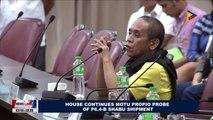 House continues Motu Propio probe of P6.4-B shabu shipment