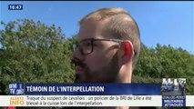 Un témoin raconte l'interpellation de l'auteur présumé de l'attaque de Levallois-Perret