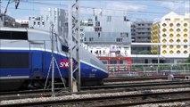 Paris Railway Gare SNCF de Rosa Parks RER E TGV Intercités
