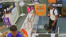 Deux commerçants ne se font pas intimider par des braqueurs et leurs pistolets !