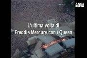 L'ultima volta di Freddie Mercury con i Queen