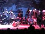 Break Dancing - flying steps vs waseda breakers
