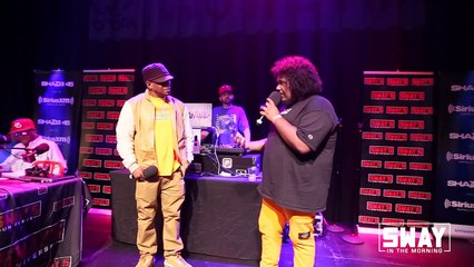 """Sway in Chicago- Michael Christmas on Touring with Logic + Performs Hit """"Not the Only One"""""""