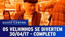 Os Velhinhos se Divertem - Programa Silvio Santos