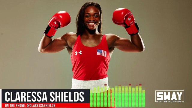 Claressa Shields Talks Beating The Undefeated, Breaking Barriers, and Dating on Sway In The Morning