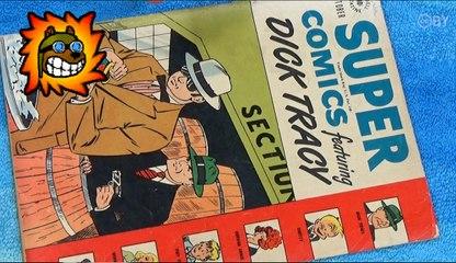 Super Comics ft Dick Tracy